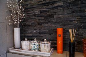 powder bath, room reveal, house tour, home decor, decoration