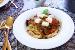 spaghetti, noodle dish, healtyh dish, vegetarian meal, vegetarian, pasta, italian, dinner, lunch, easy food idea, delicious recipe idea