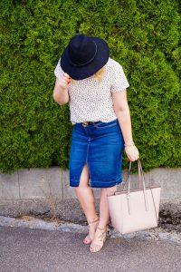 pre-fall, fall look, pre-fall outfit, fashion blogger, Madame Schischi, polka dots, fall, autumn, Calvin Klein