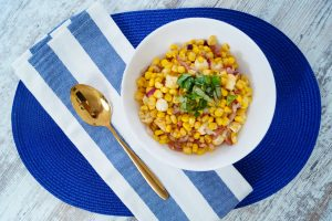 corn salad, summer salad, bacon love, easy dish, sidedish, BBQ side dish