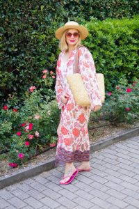 swimmsuit, SheIn, flower kimono, colorful swimmsuit, swimm suit coverup, poolside, vacation style, poolstyle, summer 19
