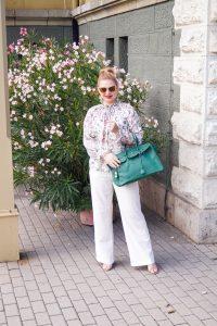 pre-fall, white for fall, linen pants, marlene pants, white on white, fashionblogger, Madame Schischi