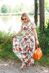 summer dress, dresslover, maxi dress, flower print, flower maxi dress, summer 19, fashion blogger, summer style, summer outfit, feminine look