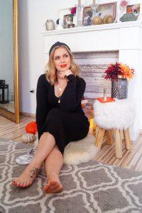 make-up, fall make-up look, autumn, pumpkins, orange, beauty, cosmetics, make-up tutorial, Madame Schischi