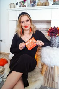 make-up, fall make-up look, autumn, pumpkins, orange, beauty, cosmetics, make-up tutorial, Madame Schischi