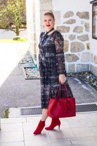 tie-dye, dresslover, fall fashion, autumn style, fashion trends, fashionblogger, Madame Schischi, Asos, Michael Kors, bootie weather