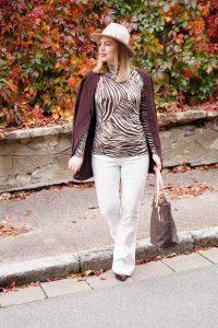 white denim, white after labor day, zebra, animal print, fashionable prints, fall fashion, fall, autumn style, H&M, Zara