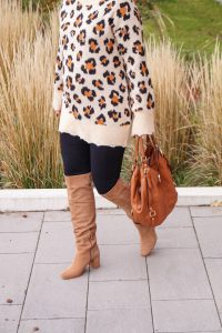 leopard print, fashion blogger, Madame Schischi, fashion, fall fashion, cozy, casual look