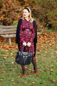 plaid dress, plaid, shirt dress, dresslover, fall dress, autumn style, styleblogger, fashion, fashionblogger, Madame Schischi, fall