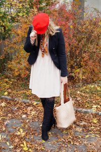 baker boy hat, hat styles, cadett cap, pops of red, fall fashion, autumn style, leopard print, preppy style, fashionblogger, fashion, Madame Schischi