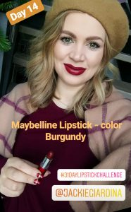 lipstickchallenge, Jackie Giardina, beauty, lipstick lover, lipstick, beauty review, blogged, Madame Schischi, beauty challenge