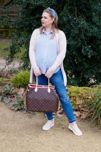 fashionblogger, fashion, spring style, spring, spring fashion, luis vuitton neverfull, soft colors, pregnancy style, maternity style