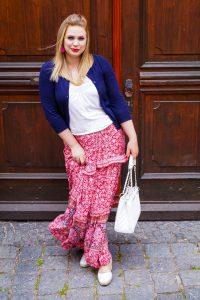 fashionblogger, fashion, boho style, maxi skirt, style blogger, sheIn, casual style, boho, pink, pink maxi skirt