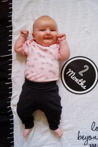 baby girl, two months update, baby, baby fashion