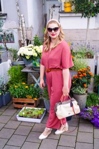 fahionblogger, styleblogger, summer style, fashion trends,jumpsuit, romper, Madame Schischi, Coach handbags