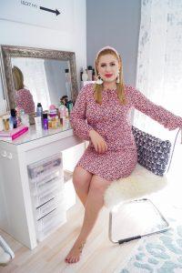 beauty, beauty review, new beauty products, beauty finds june, leopard print dress, pink dress