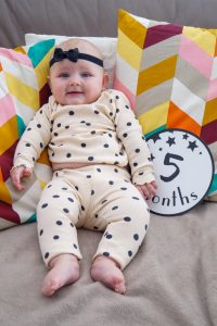baby update, monthly review, five months old, baby fashion, baby gear, baby girl, zara baby