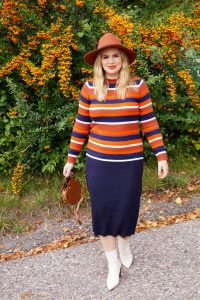 fashionblogger, fashion, fall fashion, autumn style, casual style, mom style, ootd, what I wear, how to style, cozy knits, orange, cognac brown, western boots