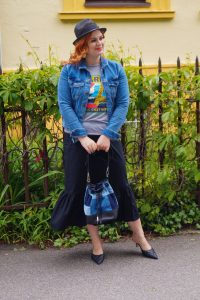 fashionblogger, fashion, spring, spring style, summer fashion, denim, mules, graphic tee, how to style, what to wear, affordable fashion