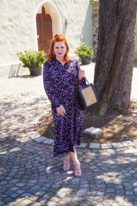 fashion, spring fashion, spring, style inspo, fashionblogger, Madame schischi, H&M, red head, red hair, dresslover, casual style, summer style, flower print