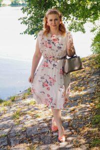 fashion blogger, fashionista, summer, summer fashion, summer date night, pleated dress, feminine style, 31 dresses of summer, dresschallenge