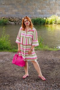 fashion blogger, fashion post, summer, summer dresses, 31 dresses of summer, dress challenge, style inspo, how to style, what to wear, pink lover, vacation style