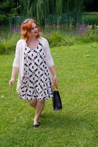 fashionblogger, fashion, summer, 31 dresses of summer, summer style, artdeco dress, black and white