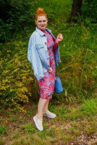 fashionblogger, fashion, style inspo, summer, summer fashion, flower dress, denim jacket, 31 dresses for summer, summer dresses, dress lover, Madame Schischi