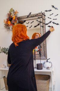 fall, fall decor, home decor, house decor, pumpkins and mums, halloween decor